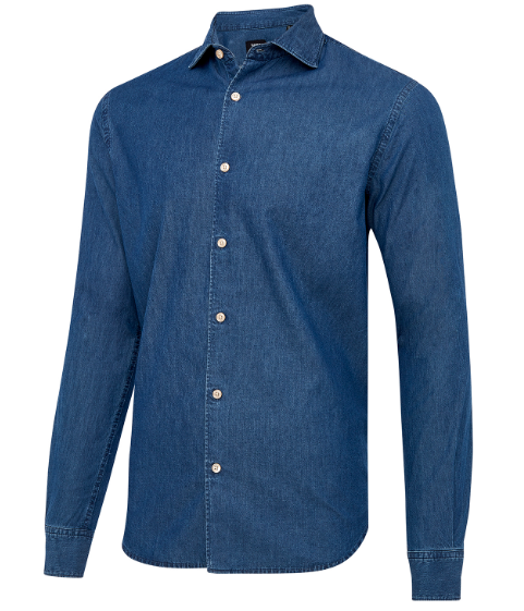 Motion Shirt denim - Herenmode