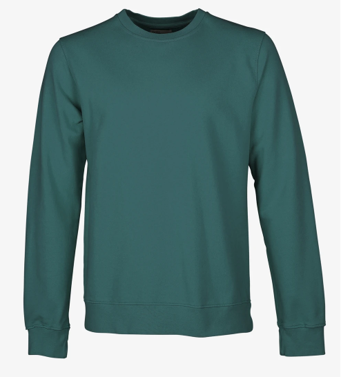 CS Crewneck Ocean Green - Herenmode
