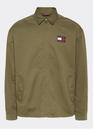 Cotton jacket olive - Herenmode
