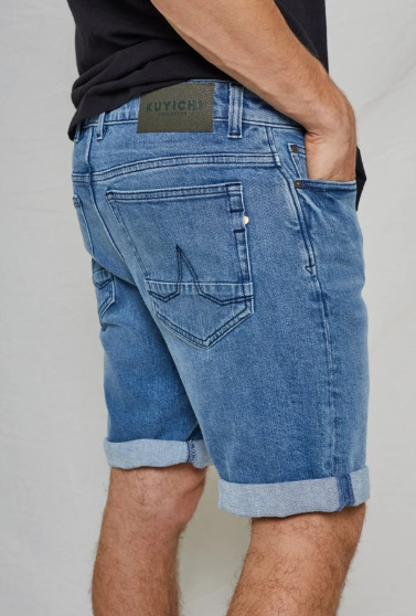 Jeff Denim Short - Herenmode