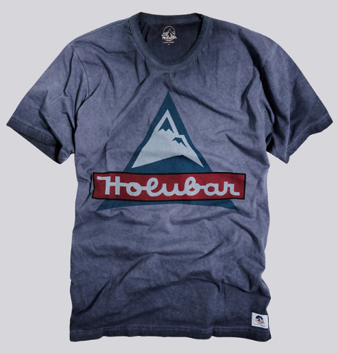 Sequoia tee washed navy - Herenmode