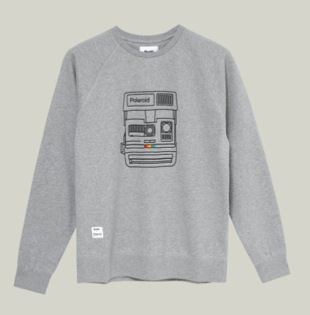 Brava x Polaroid sweater - Herenmode